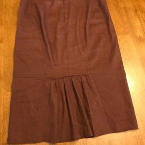 Bebe brown Pencil Skirt 6